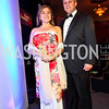 Photo by Tony Powell. Congresswoman Loretta Sanchez, Jack Einwechter. Noche de Gala 2010. Mayflower Hotel. September 14, 2010